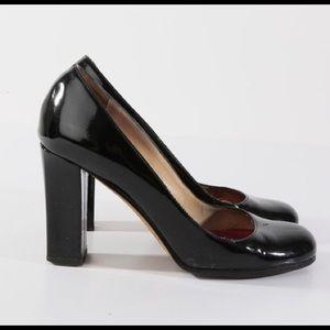Kate Spade Kristen Patent Leather Block Heels